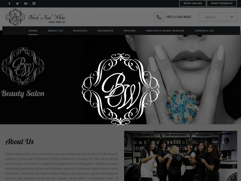 Black and White Salon Dubai JLT